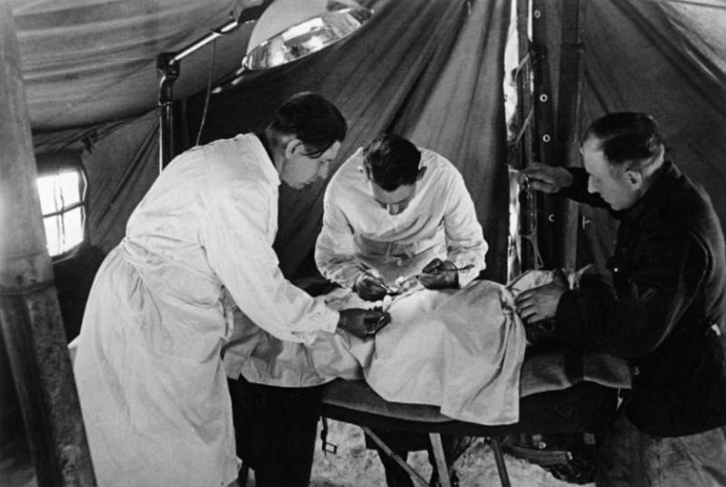 Les services sanitaires de la Luftwaffe Bb12