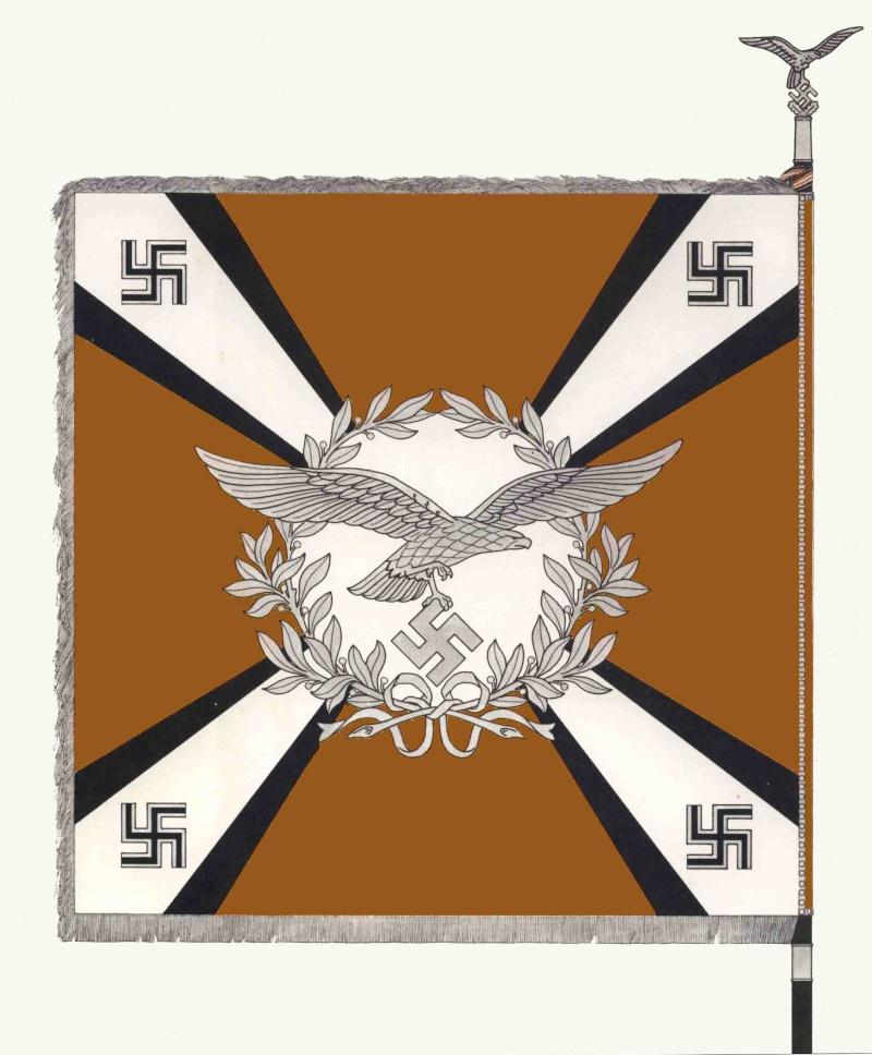 Les transmissions dans la Luftwaffe Drapea10
