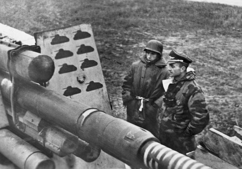 Les chasseurs de chars, Panzerjäger, de la Luftwaffe Gdr11