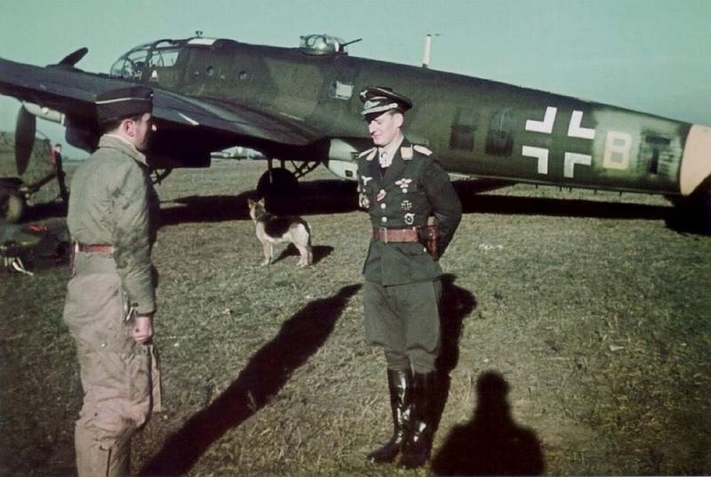 La Luftwaffe en couleurs ! Khkg1010