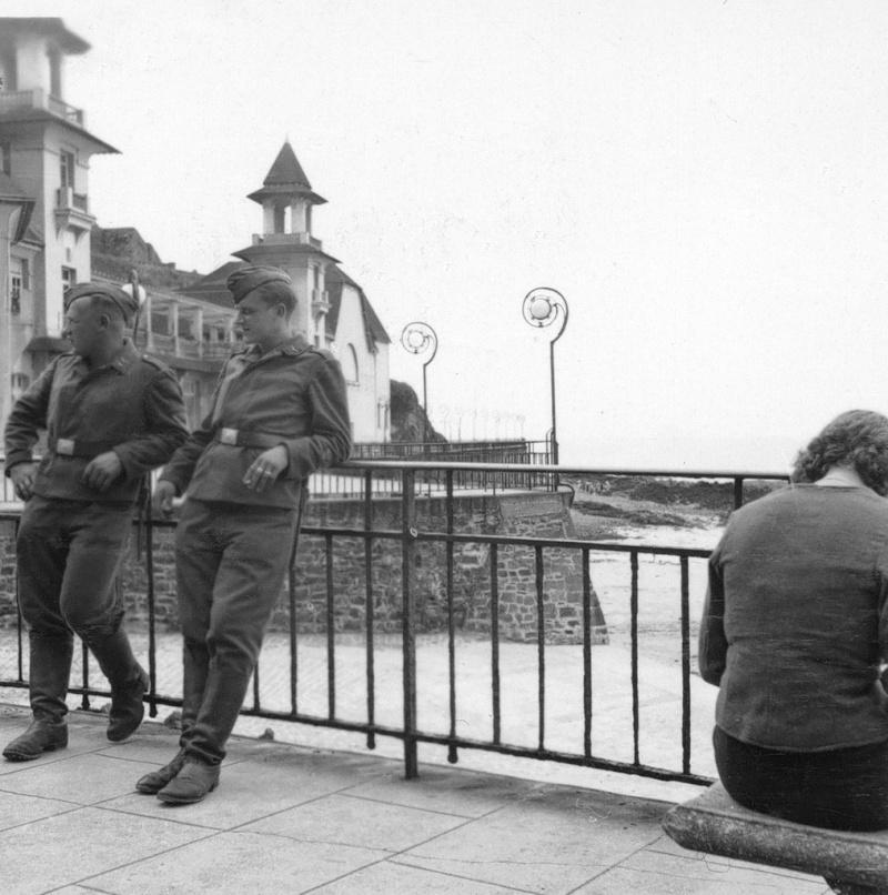 Les soldats de la Luftwaffe au repos ! Mm10