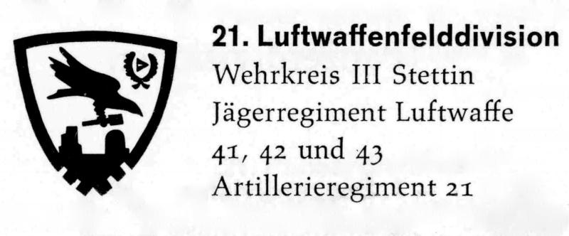 Insignes tactiques des Felddivisions de la Luftwaffe Rae10