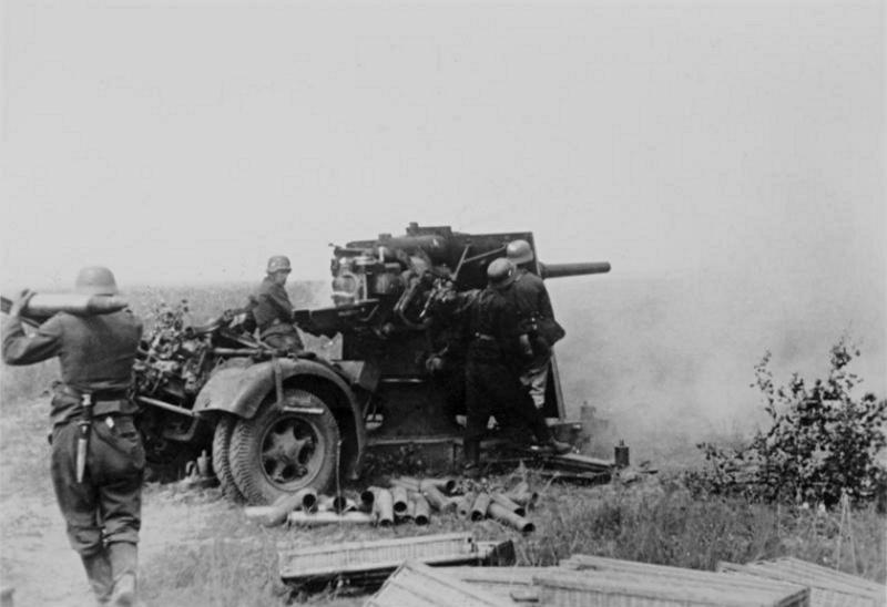 Les chasseurs de chars, Panzerjäger, de la Luftwaffe Yhkgu10