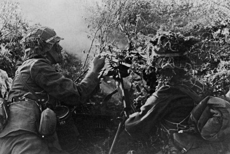 Filet de casque de l'armée allemande Ze486910