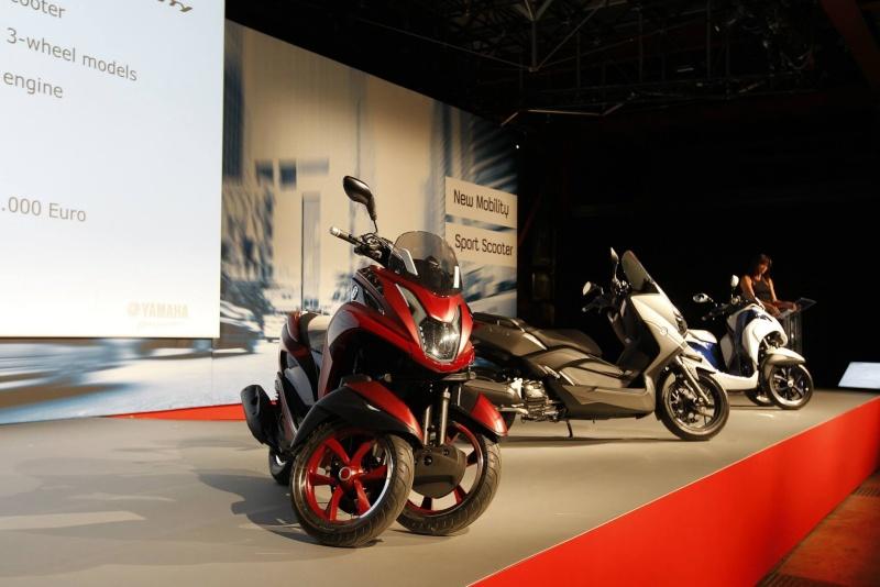 Le 3 roues Yamaha arrive (masqué) !!! (Tricity - MBK Tryptik) - Page 3 Image20