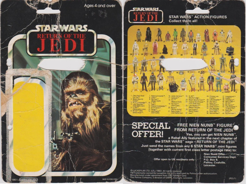 """The General Mills 45 back & Palitoy """"non factory sealed"""" discussion. - Page 11 Chewba10"""