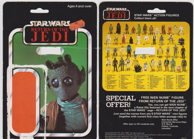"""The General Mills 45 back & Palitoy """"non factory sealed"""" discussion. - Page 11 Greedo11"""