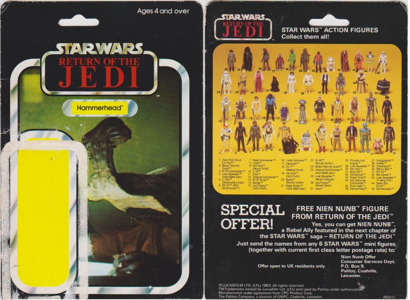 """The General Mills 45 back & Palitoy """"non factory sealed"""" discussion. - Page 11 Hammer10"""