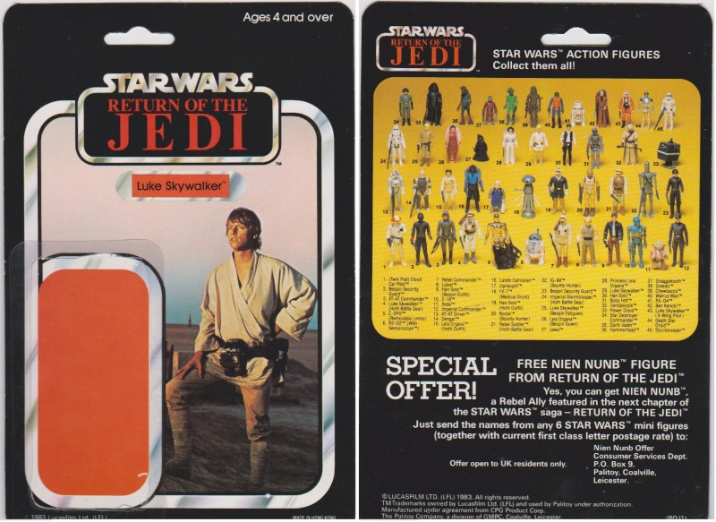 """The General Mills 45 back & Palitoy """"non factory sealed"""" discussion. - Page 11 Luke_s12"""