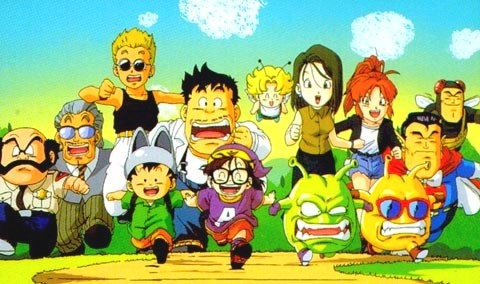 Dr Slump & Arale-chan : Film 10 + New Dr Slump 01 Dr_slu11