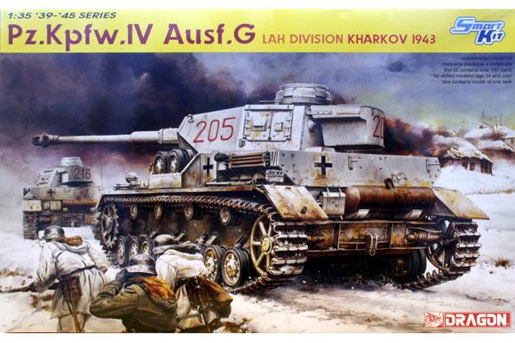 Panzer IV ausf G Dragon 1/35 Dragon10