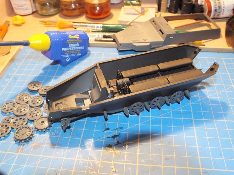 Sdkfz 251/1 Tamiya 1/35 Dscf1110