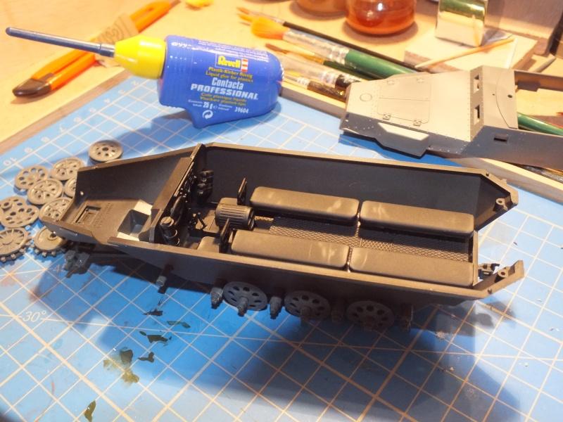 Sdkfz 251/1 Tamiya 1/35 Dscf1111
