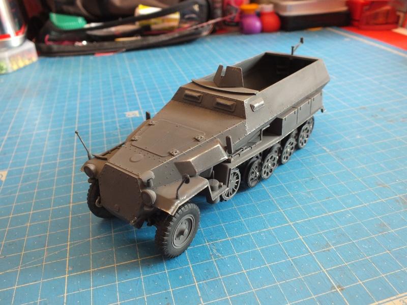 Sdkfz 251/1 Tamiya 1/35 Dscf2711