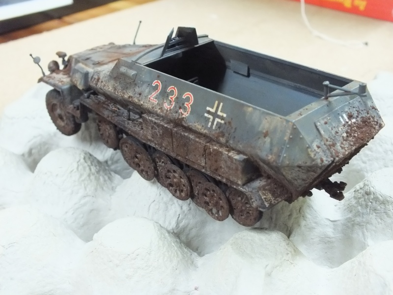 Sdkfz 251/1 Tamiya 1/35 Dscf2714