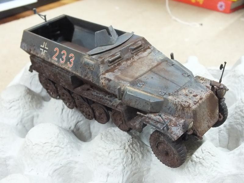 Sdkfz 251/1 Tamiya 1/35 Dscf2715