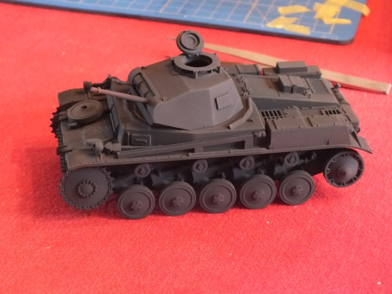 Panzer II ausf .F Tamiya 1/35 : FINI Dscf2828