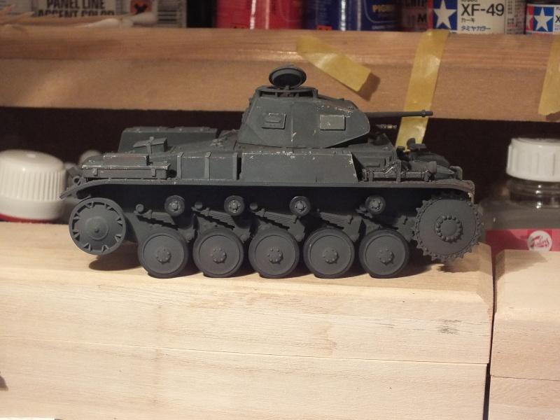 Panzer II ausf .F Tamiya 1/35 : FINI Dscf2829