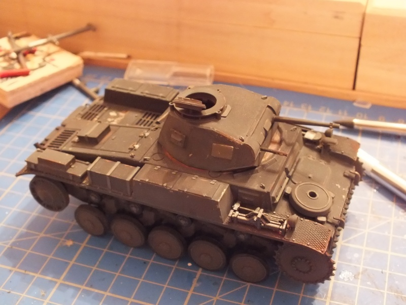 Panzer II ausf .F Tamiya 1/35 : FINI Dscf2830