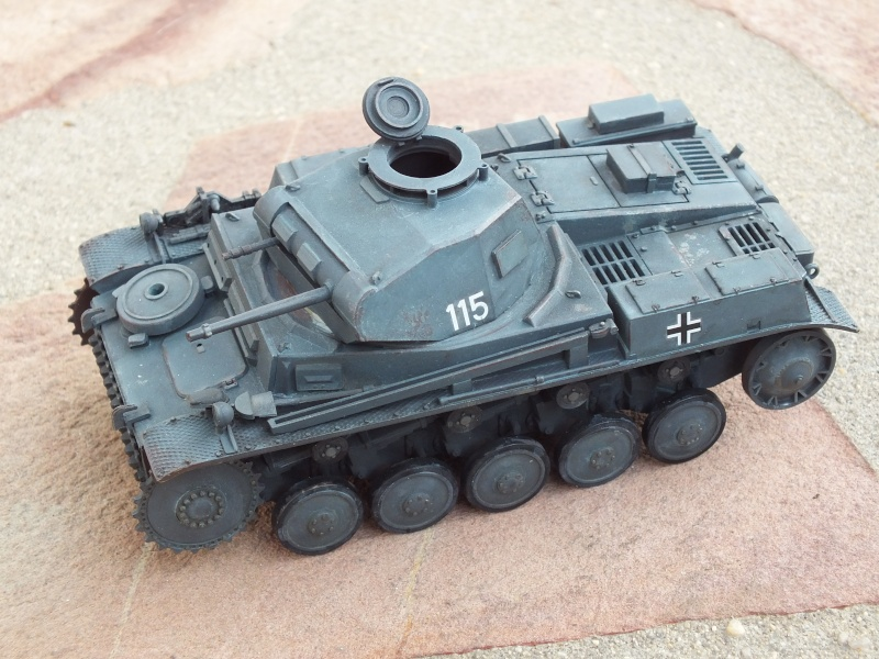 Panzer II ausf .F Tamiya 1/35 : FINI Dscf3529