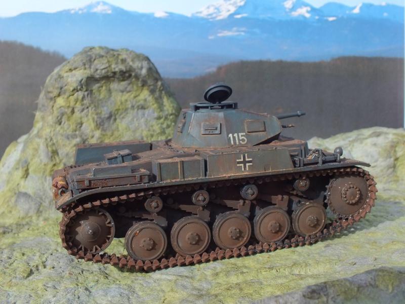 Panzer II ausf .F Tamiya 1/35 : FINI Dscf3724
