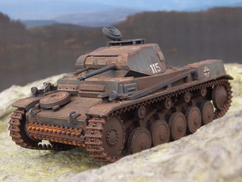 Panzer II ausf .F Tamiya 1/35 : FINI Dscf3726