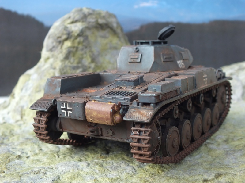 Panzer II ausf .F Tamiya 1/35 : FINI Dscf3728
