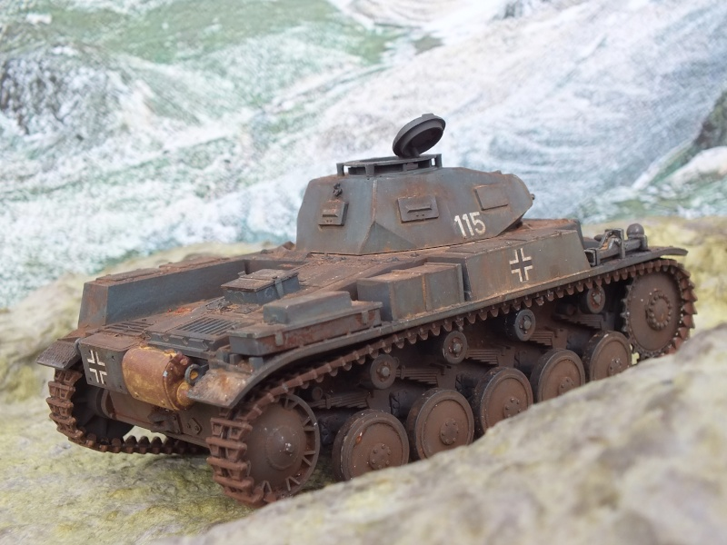 Panzer II ausf .F Tamiya 1/35 : FINI Dscf3729