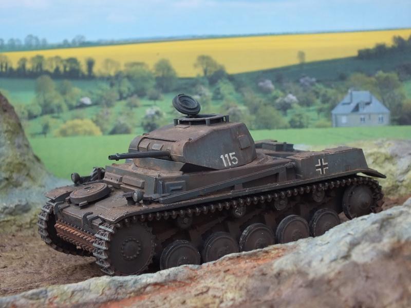 Panzer II ausf .F Tamiya 1/35 : FINI - Page 2 Dscf3742