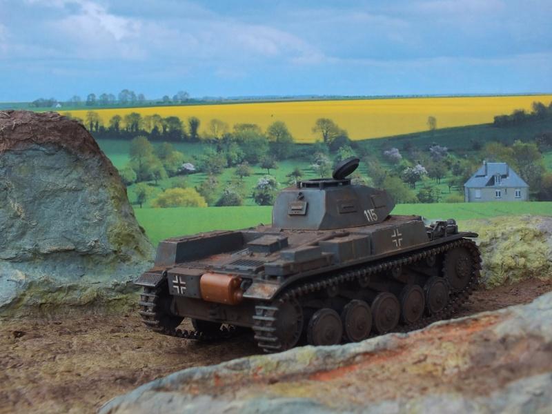 Panzer II ausf .F Tamiya 1/35 : FINI - Page 2 Dscf3743