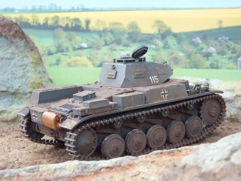 Panzer II ausf .F Tamiya 1/35 : FINI - Page 2 Dscf3744