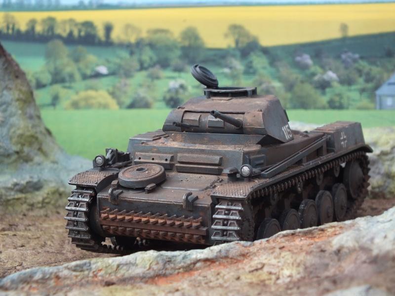 Panzer II ausf .F Tamiya 1/35 : FINI - Page 2 Dscf3745