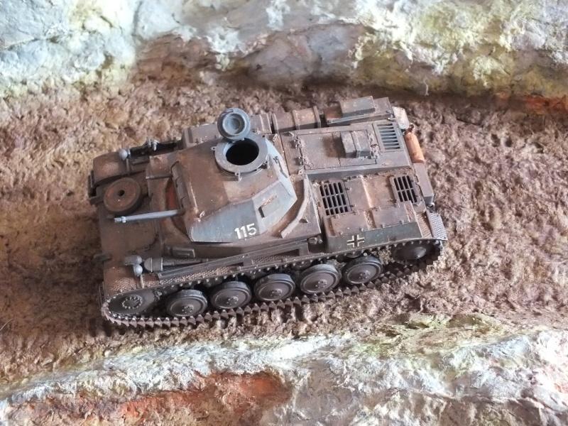 Panzer II ausf .F Tamiya 1/35 : FINI - Page 2 Dscf3747