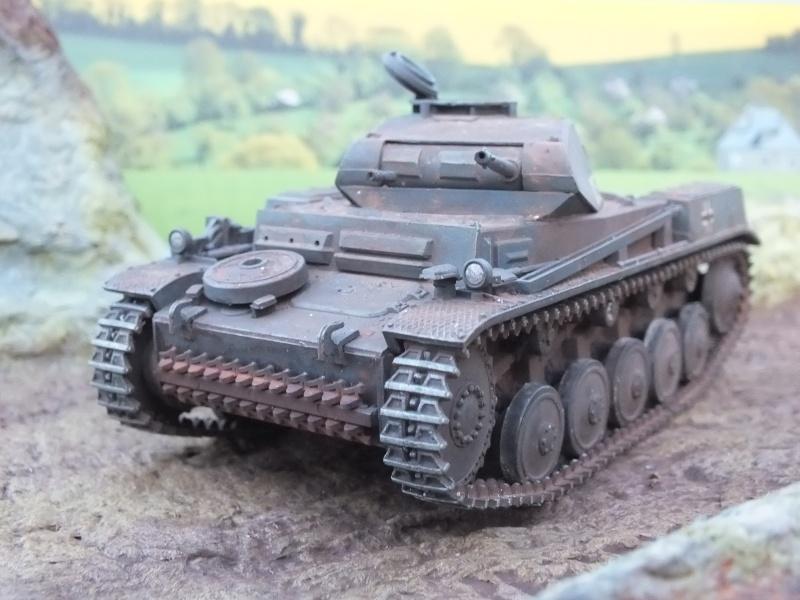 Panzer II ausf .F Tamiya 1/35 : FINI - Page 2 Dscf3810
