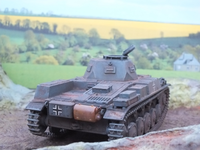 Panzer II ausf .F Tamiya 1/35 : FINI - Page 2 Dscf3811