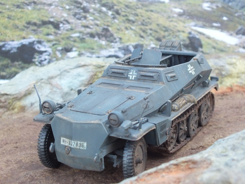 Sdkfz 250/3 Tamiya 1/35 Dscf3913