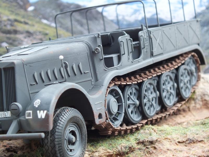 Sdkfz 9 Famo Tamiya 1/35 FINI Dscf4133