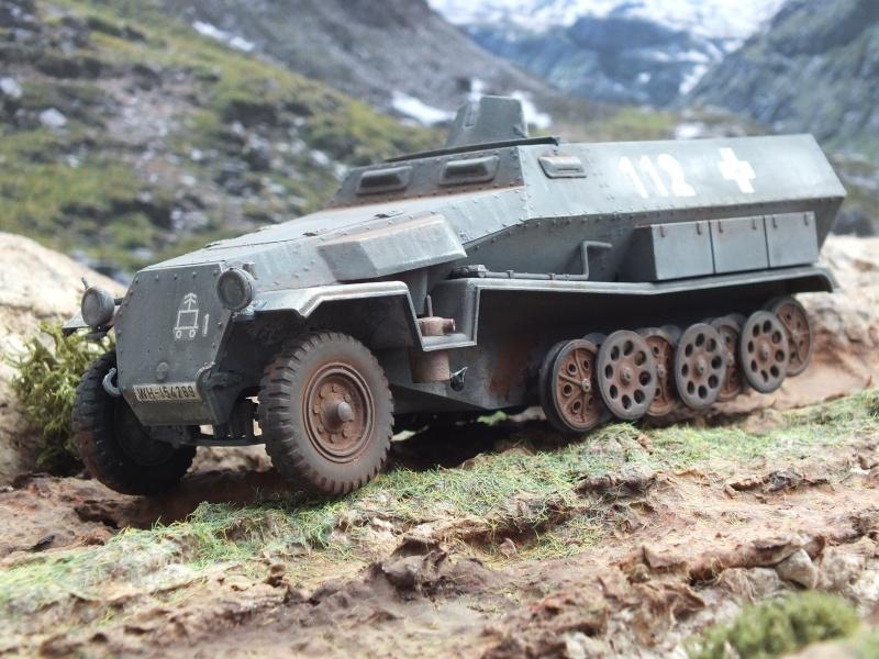 Sdkfz 251/1 Tamiya 1/35 Dscf4138