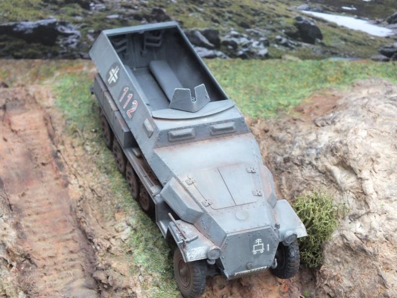 Sdkfz 251/1 Tamiya 1/35 Dscf4140