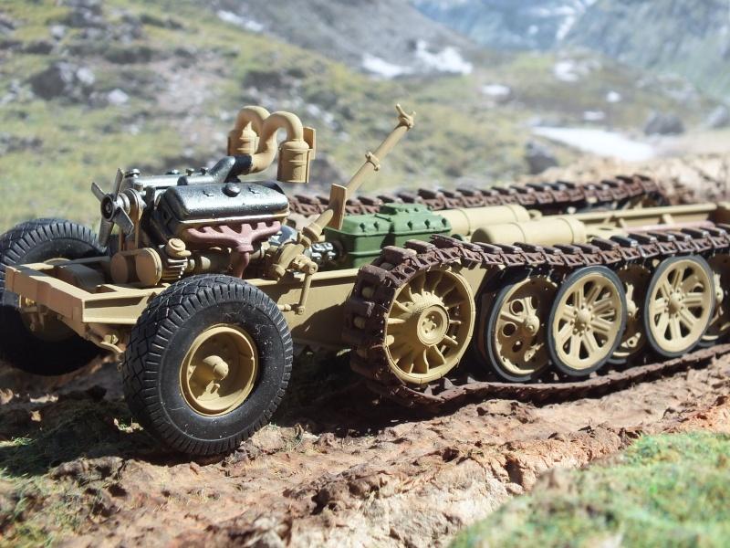 Sd.Kfz.8 Schwerer Zugkraftwagen 12 ton (Trumpeter 1/35) (DÉBUT DE PEINTURE) Dscf4227