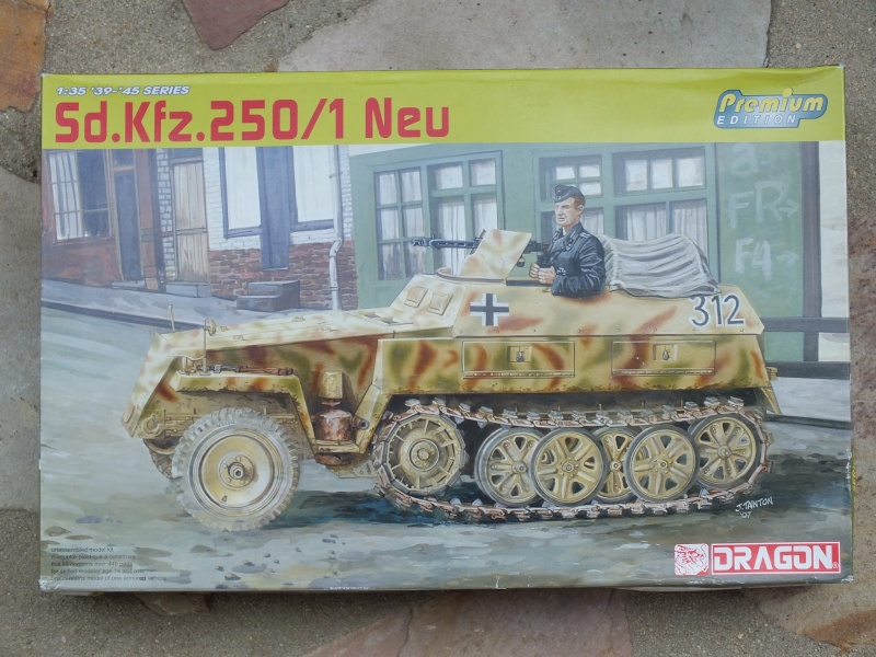 "Sdkfz 250/1 ""Neu"" Dragon kit 6427 1/35 Dscf4243"