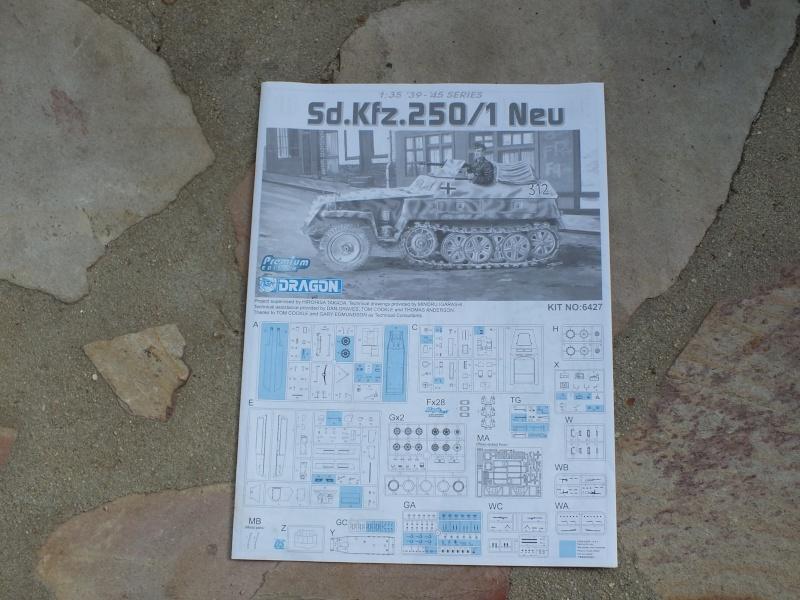 "Sdkfz 250/1 ""Neu"" Dragon kit 6427 1/35 Dscf4250"