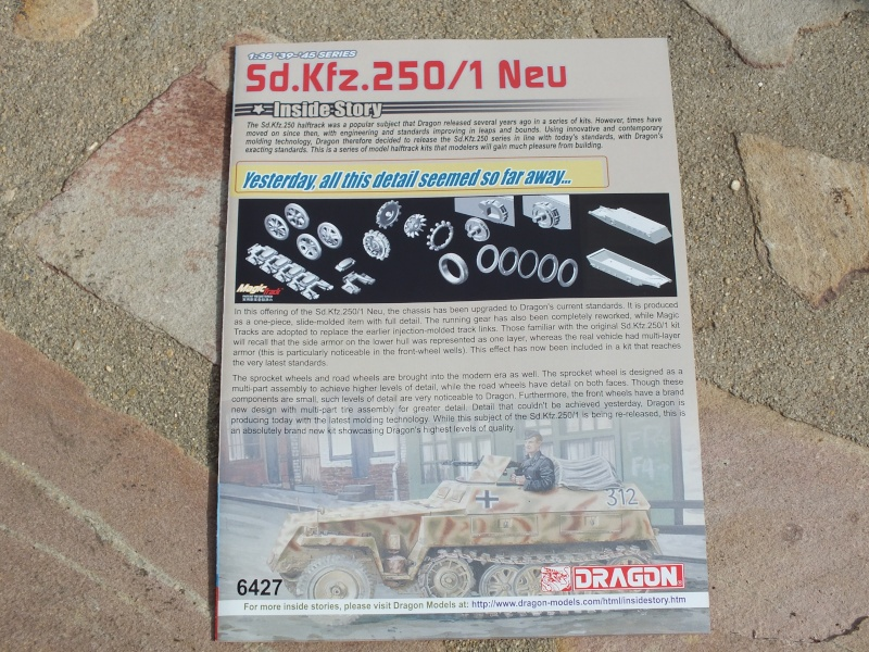 "Sdkfz 250/1 ""Neu"" Dragon kit 6427 1/35 Dscf4252"
