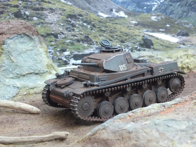 Panzer II ausf .F Tamiya 1/35 : FINI - Page 2 Dscf4513