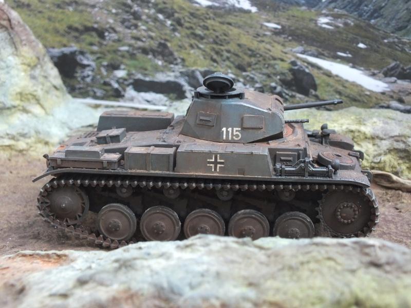 Panzer II ausf .F Tamiya 1/35 : FINI - Page 2 Dscf4514