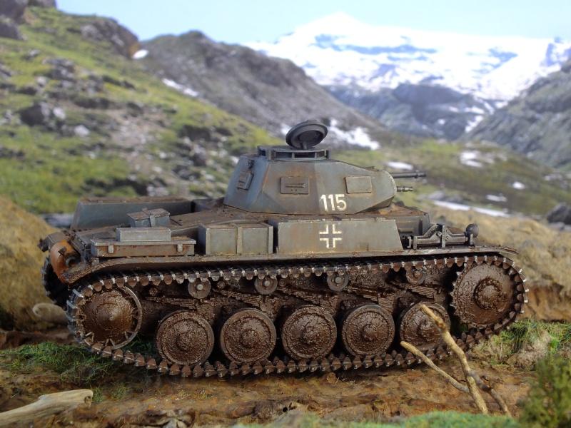 Panzer II ausf .F Tamiya 1/35 : FINI - Page 2 Dscf4625