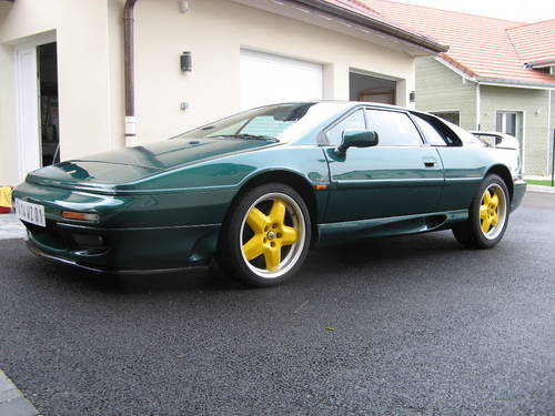 Lotus Esprit limited edition  25h_in10