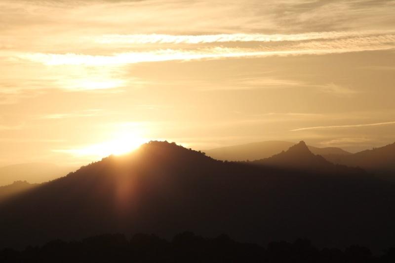 Coucher de soleil sur le Roc Dels Maures 20131120