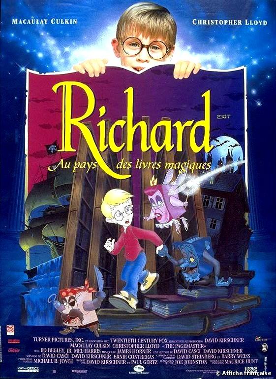 Richard au Pays des Livres Magiques [20th Century - 1994] Richar10