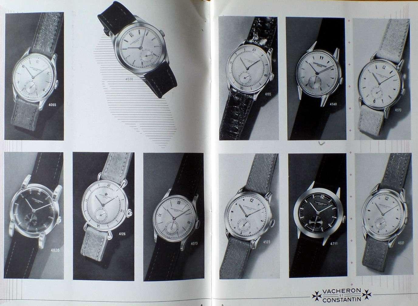 Vacheron Constantin: quelques références vintage 3 aiguilles Vacher10